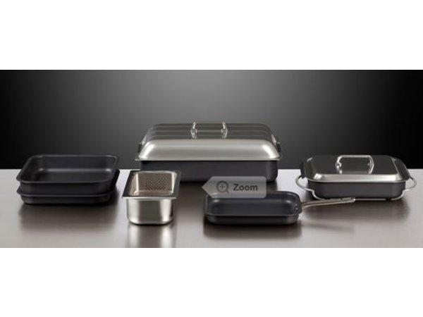 Rieber Rieber Thermoplates | Antihaft-Beschichtung | Induktionsfähig | 1/1GN  40mm
