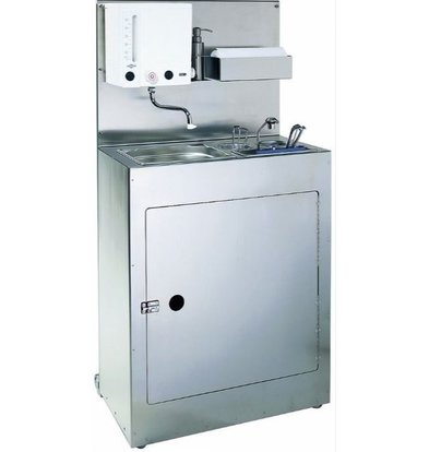 Coolselect Eisportioniererspüler mit Spüle | 705 x 430 x (H) 1370 mm