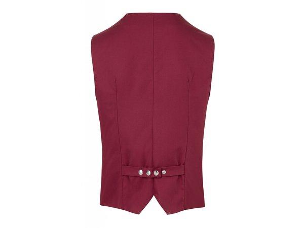 XXLselect Herrenweste Kai | Bordeaux | 65% Polyester / 35% Baumwolle | Erhältlich in 12 Größen