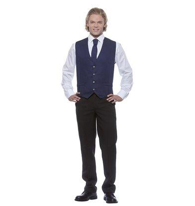 XXLselect Herrenweste Kai | Marine | 65% Polyester / 35% Baumwolle | Erhältlich in 12 Größen