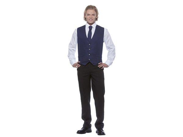 Karlowsky Herrenweste Kai   Marine   65% Polyester / 35% Baumwolle   Erhältlich in 12 Größen