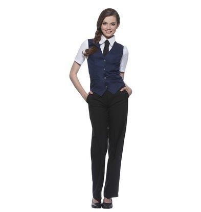 XXLselect Damenweste Lena | Marine | 65% Polyester / 35% Baumwolle | Erhältlich in 10 Größen