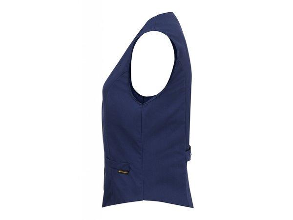 Karlowsky Damenweste Lena | Marine | 65% Polyester / 35% Baumwolle | Erhältlich in 10 Größen