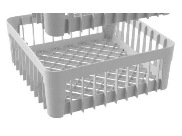Hendi Gläserkorb für Gläserspüler | Ohne Support Pins | 400x400x(h)150mm