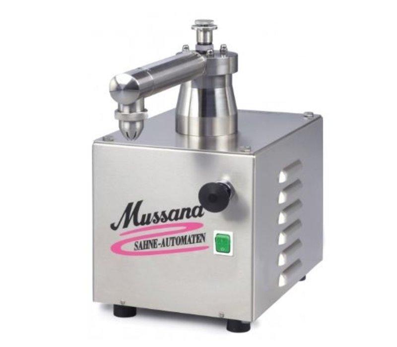 Mussana Sahnemaschine Mini E | 400V / 50Hz / 3 Phasen