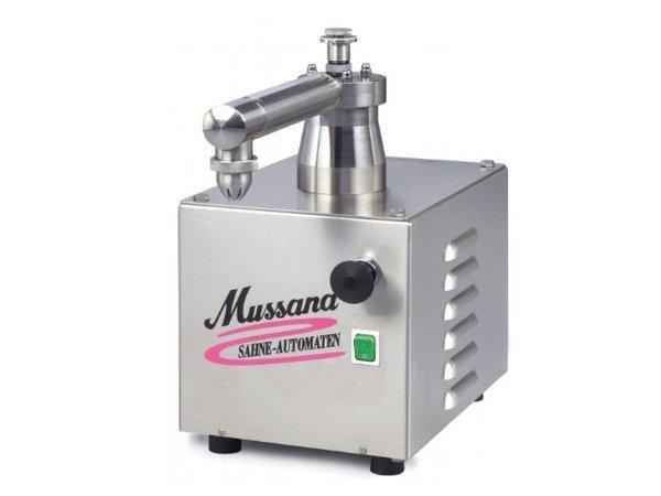 Mussana Sahnemaschine Mini E | 230V / 50Hz