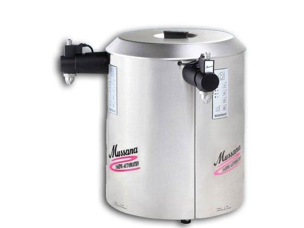 Mussana Sahnemaschine Duo Microtronic | 2 x 6 Liter | Edelstahl
