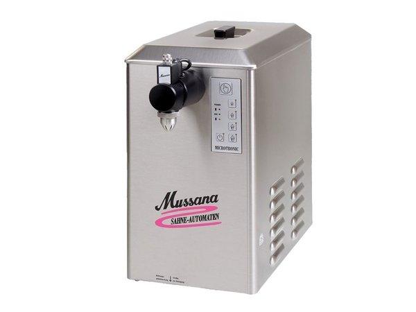 Mussana Sahneautomat Lady | 6 Liter | Edelstahl