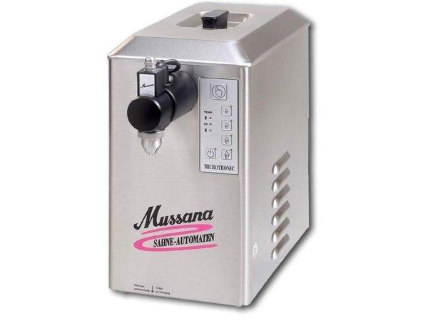 Mussana Sahneautomat Pony | 2 Liter | Edelstahl