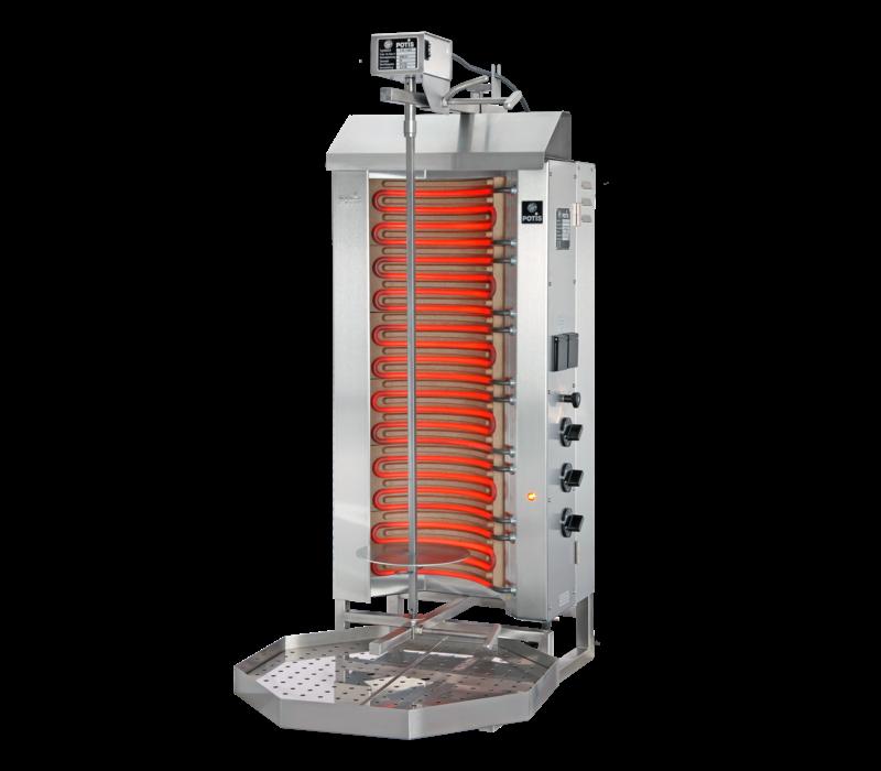 Potis Gyros-Grillgerät Elektro E3-S | 9,0kW- 400/230V 3/N/PE | Erhältlich in 2 Varianten