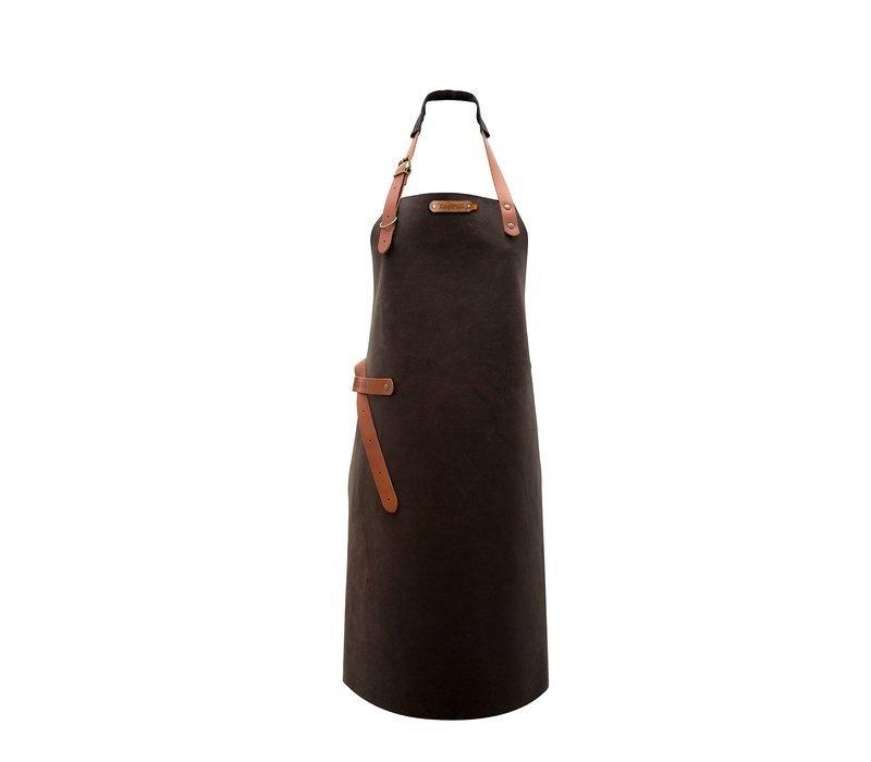 Xapron Leder Schürze Utah Choco | Erhältlich in 4 Größen