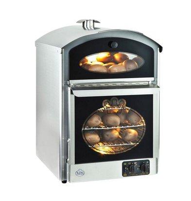 Neumarker Kartoffelofen | 60+60 Kartoffeln | 510x580x (h) 750mm | 230V / 3KW