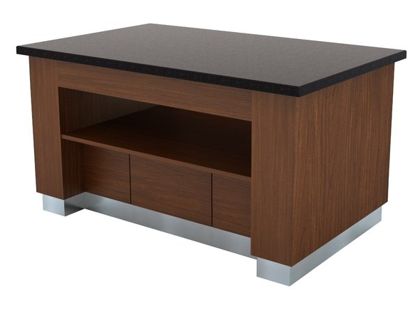 Combisteel Buffet neutral | Farbe Wenge | 1600x1000x(h)900mm