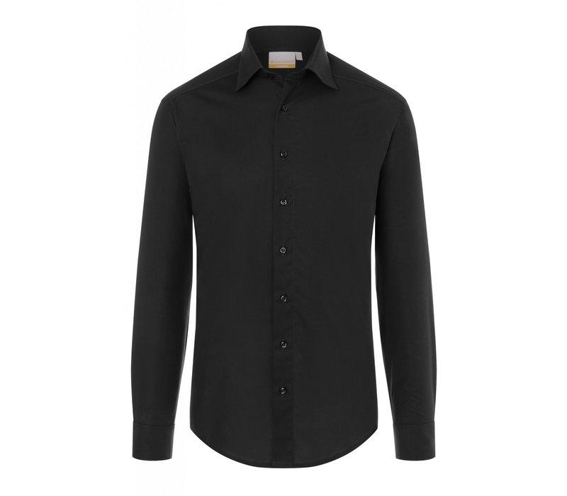 Herrenhemd Jona | Bordeaux | 49% Polyester 49% Baumwolle 2% Elastolefin | Erhältlich in 8 Größen