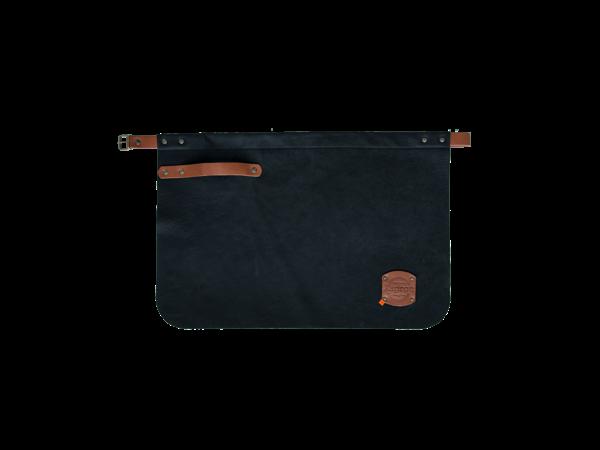 Xapron Leder Schürze Utah Schwarz | Erhältlich in 4 Größen