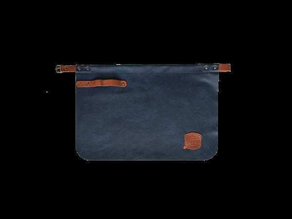 Xapron Leder Schürze Kansas Blau   Erhältlich in 4 Größen