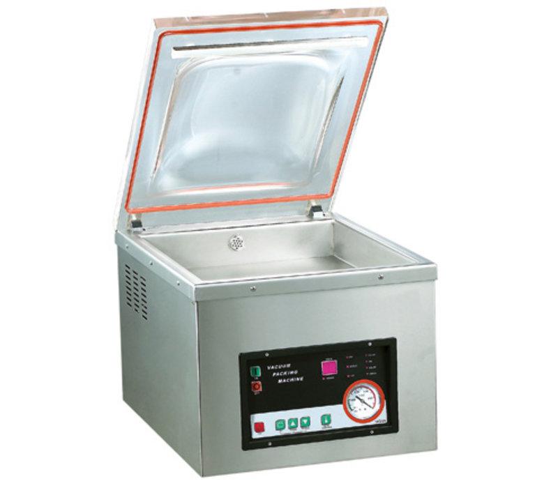 GGG Vakuumiergerät | 230V-0,9kW | 560x425x410 mm | Nur für glatte Beutel geeignet