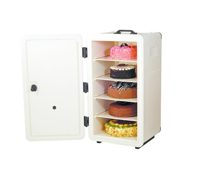 GGG Thermobox Bäckerei | Frontlader | 390x400x690 mm | 5 Böden