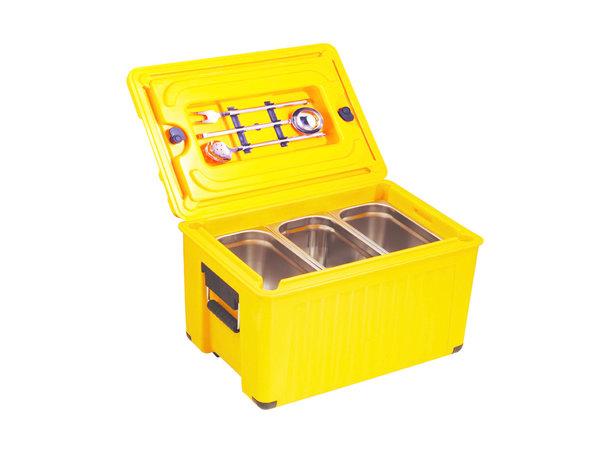 GGG Thermobox 28 Liter | Doppwandig GN1/1 | 620x420x405mm | -40°C/+100°C