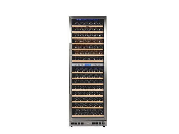 GGG Weinkühlschrank | 160 Flaschen | 2 Zonen | 595x680x1780 mm