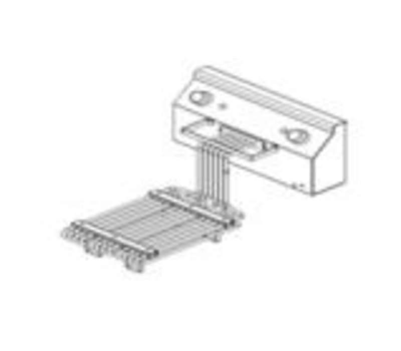Combisteel Fritteuse Elementeinheid | 9000W | 400V