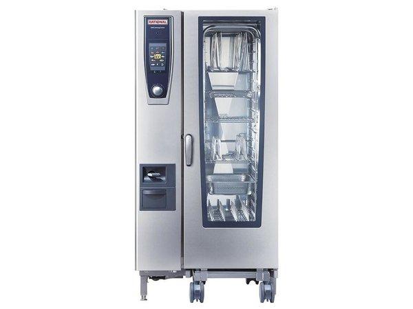Rational Rational Kombidämpfer SCC 201E Elektrisch | Self Cooking Center 201 | 20x1/1GN oder 40 x 1/2GN | 150-300 Portionen