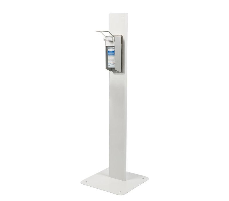 Saro Desinfektionsständer | Armhebelspender | 500ml | 450x450x(h)1400mm