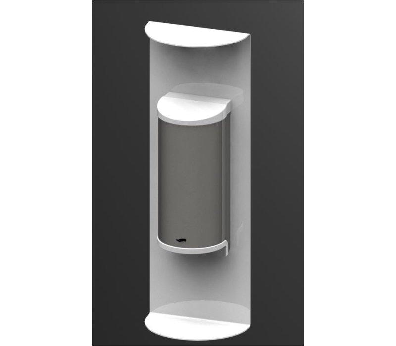 Saro Desinfektionsmittelspender weiß | No Touch | 800ml | 180x110x520mm
