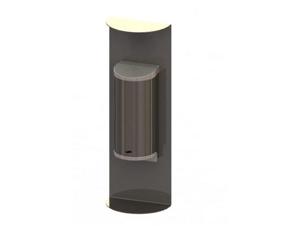 Saro Desinfektionsmittelspender   Edelstahl   No Touch   800ml   180x110x520mm
