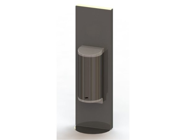 Saro Desinfektionsmittelspender | Edelstahl | No Touch | 800ml | 180x110x600mm|