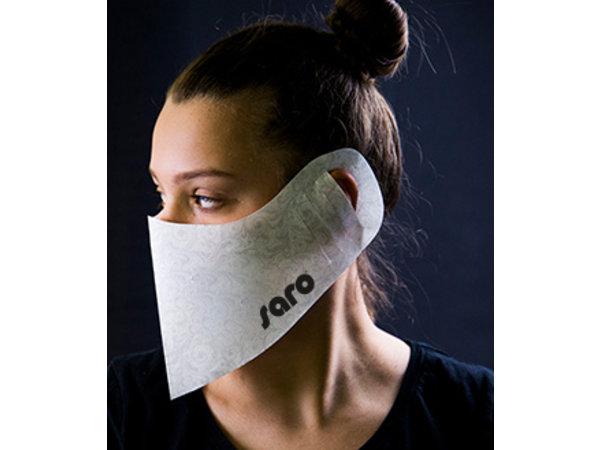 Saro Behelfs- Mund- und Nasenmaske | 100 Stück