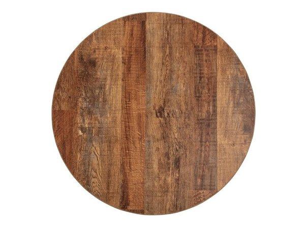 Bolero Tischplatte Urban Dark |  Rund 60cm