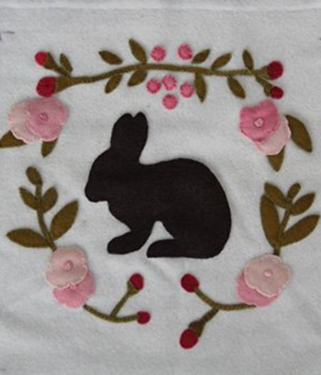 Applique Set - Bunny