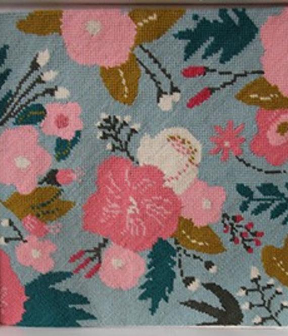 Needlepoint Set - Blumen