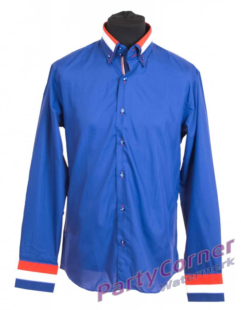 Overhemd Blauw.Overhemd Blauw Partycorner Nl