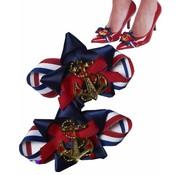 Marine schoenen gesp