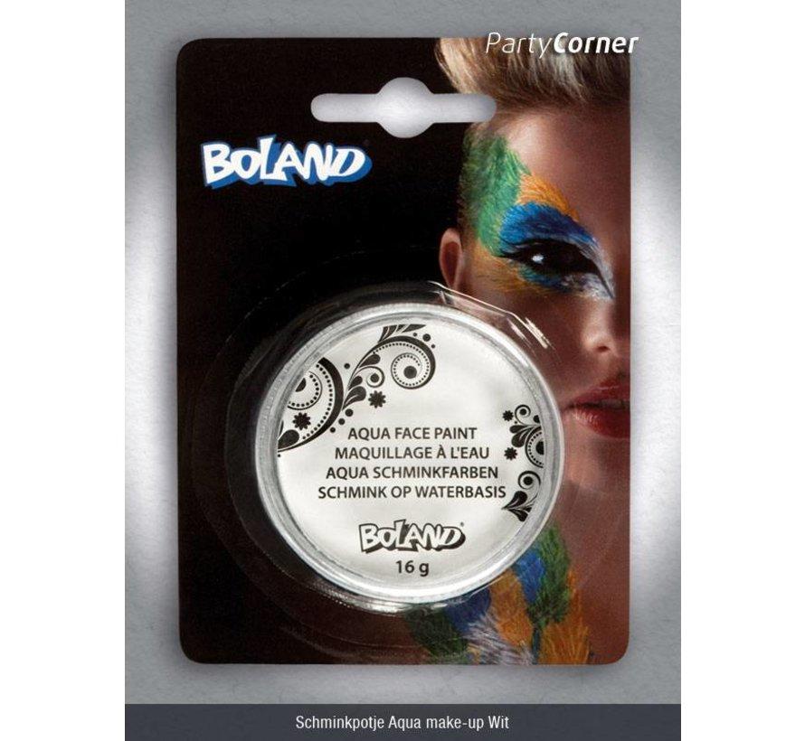 Schminkpotje Aqua make-up Wit