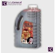 Grote fles nep bloed