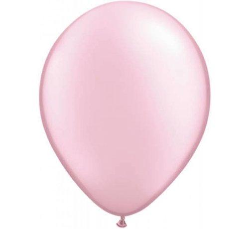 Grote roze metallic ballonnen