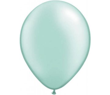 onjuiste nummer Licht groene metallic ballonnen