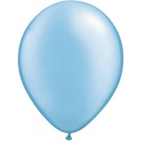 Licht blauwe metallic ballonnen online kopen