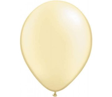 Ivoor metallic ballonnen