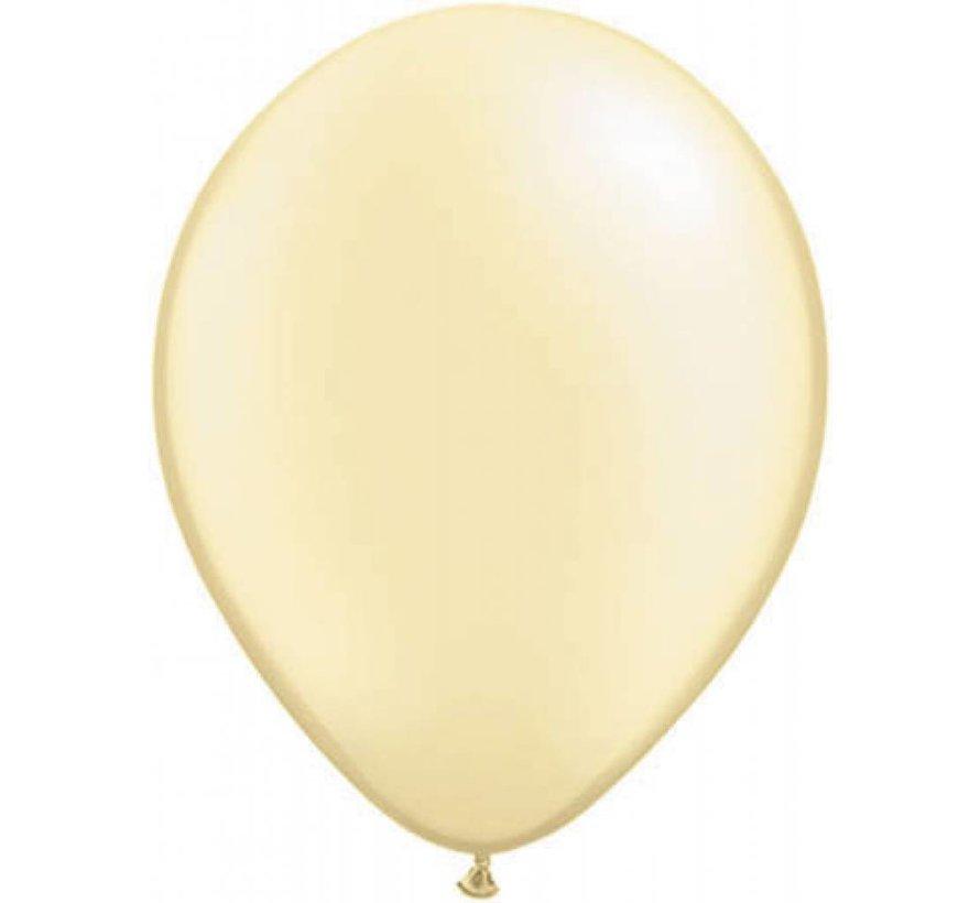 Grote Ivoor metallic ballonnen