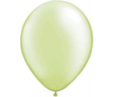onjuiste nummer Limoengroen metallic ballonnen