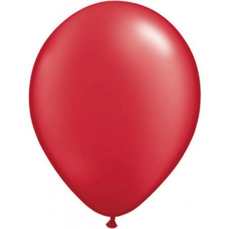 Rode metallic ballonnen online kopen