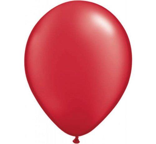 Grote rode metallic ballonnen
