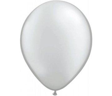Zilveren metallic ballonnen