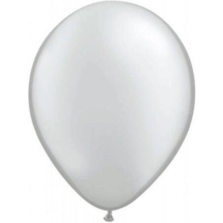 Zilveren metallic ballonnen online kopen