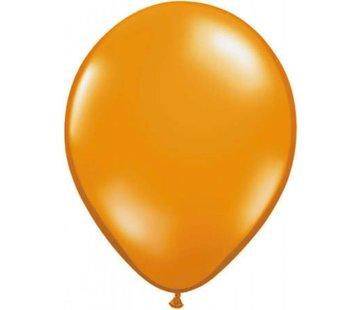 onjuiste nummer Oranje metallic ballonnen