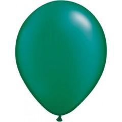 Groene metallic ballonnen